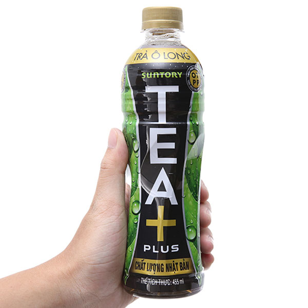 Trà ô long Tea Plus 455ml