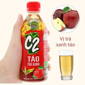 Trà xanh C2 hương táo 360ml