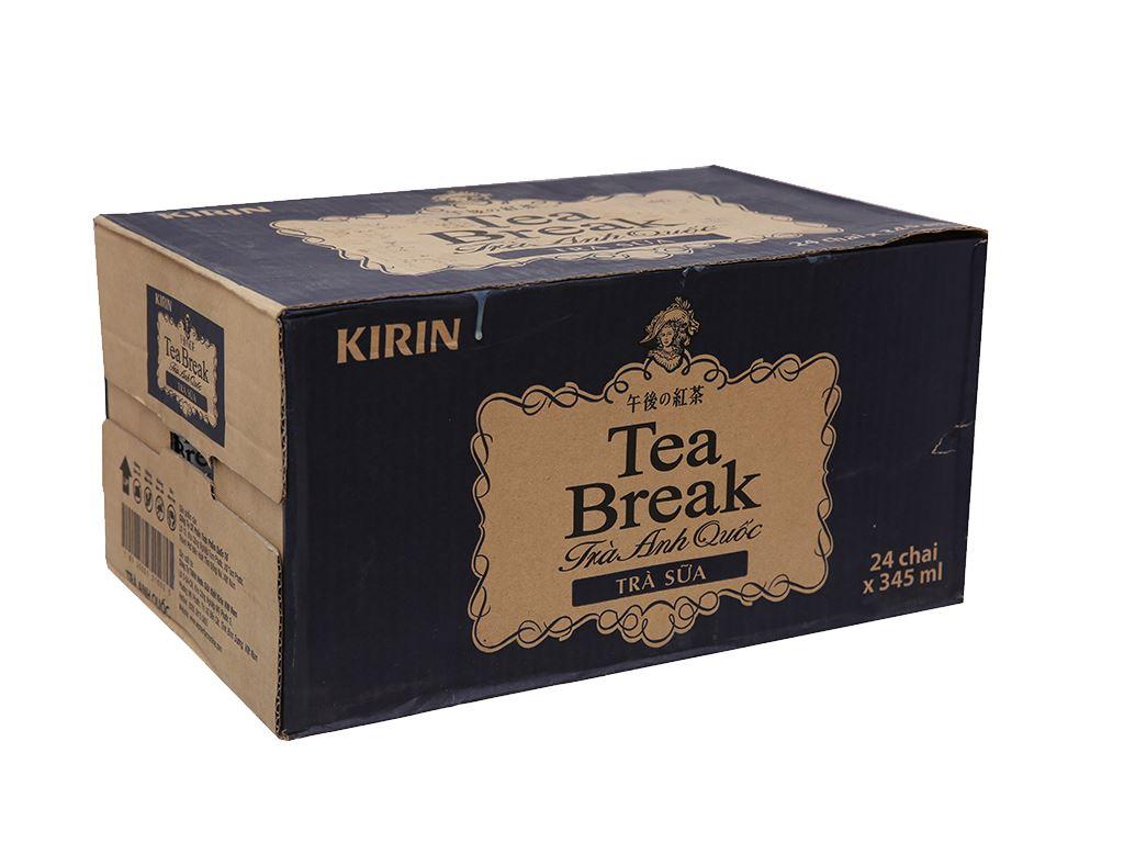 Thùng 24 chai trà sữa Kirin Tea Break 345ml 1
