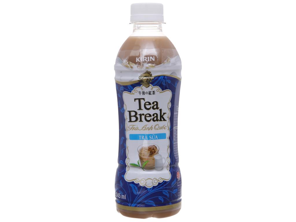 Thùng 24 chai trà sữa Kirin Tea Break 345ml 2