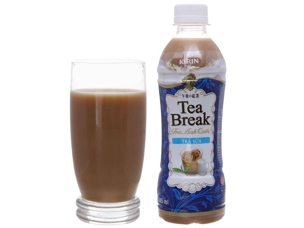 Thùng 24 chai trà sữa Kirin Tea Break 345ml 5