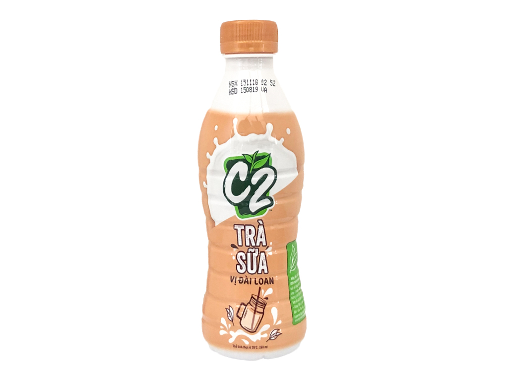 Trà sữa Đài Loan C2 260ml 1