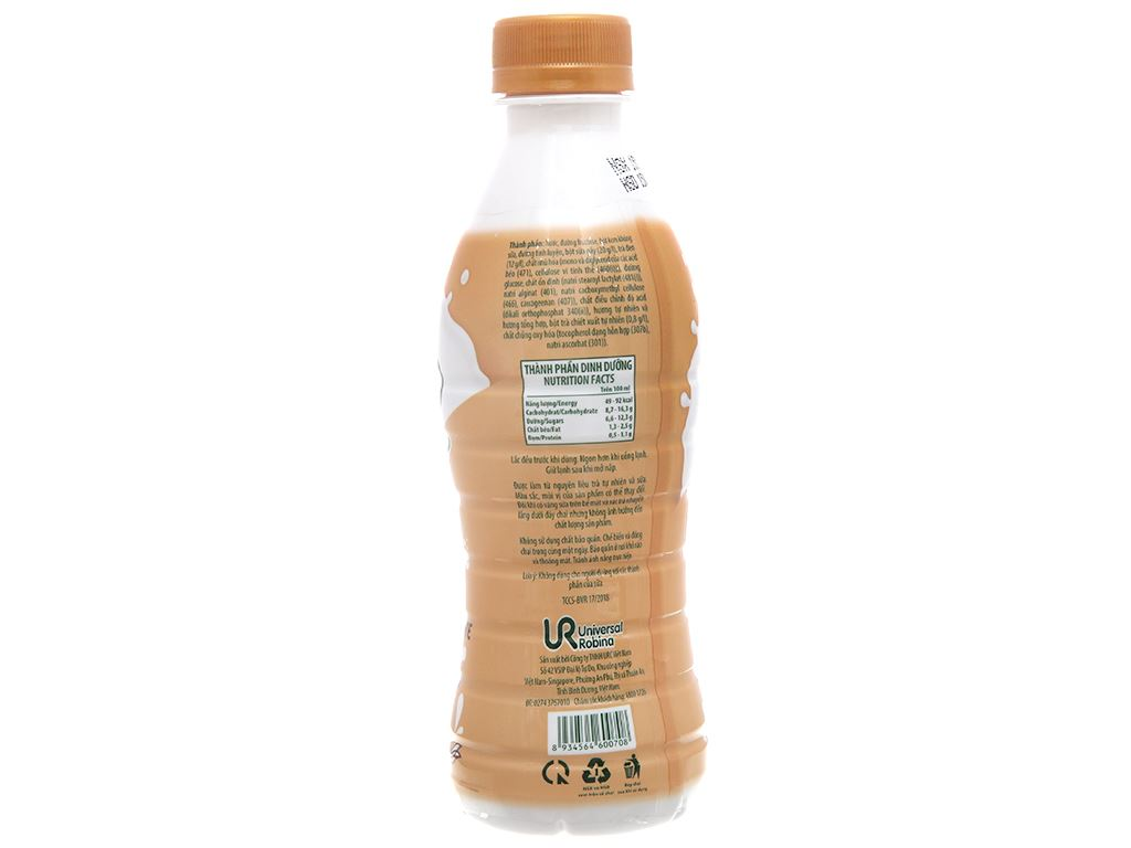 6 chai trà sữa Đài Loan C2 260ml 3