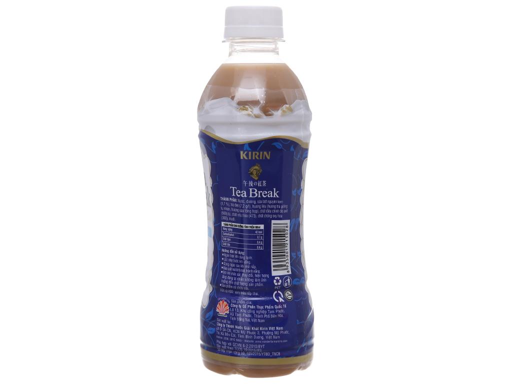 6 chai trà sữa Kirin Tea Break 345ml 3