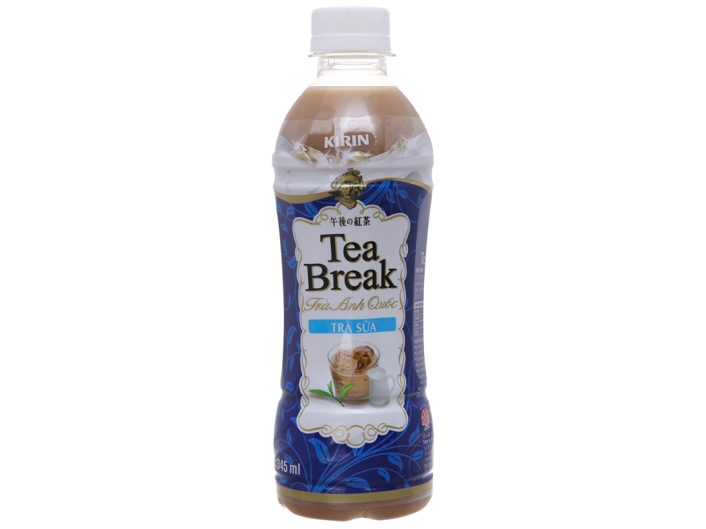 6 chai trà sữa Kirin Tea Break 345ml 2