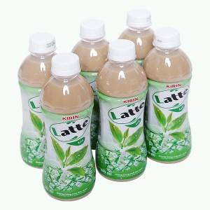 6 chai trà sữa Kirin Latte 345ml