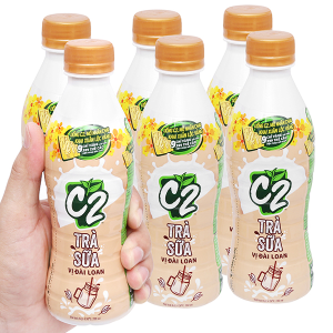 6 chai trà sữa Đài Loan C2 280ml