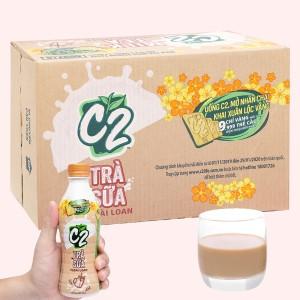 Thùng 24 chai trà sữa Đài Loan C2 280ml