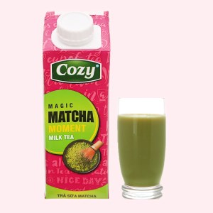 Trà sữa matcha Cozy 225ml