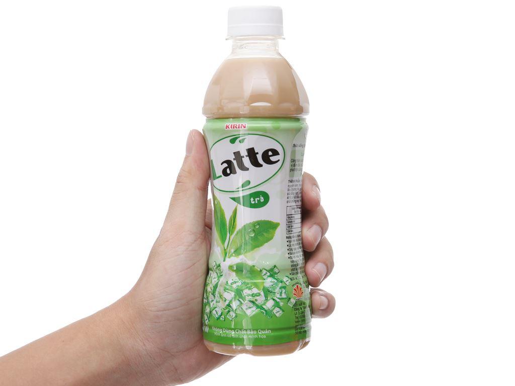 Trà sữa Kirin Latte 345ml 4