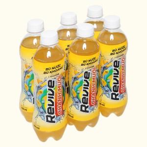 6 chai nước bù khoáng Revive chanh muối 390ml