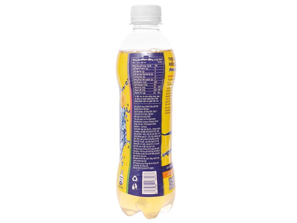 6 chai nước bù khoáng Revive chanh muối 390ml 6