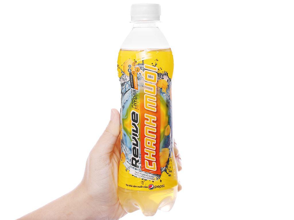6 chai nước bù khoáng Revive chanh muối 390ml 8