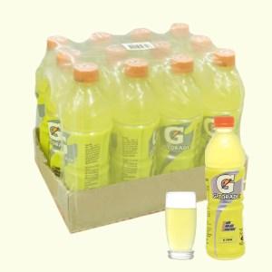 12 chai nước uống điện giải Gatorade vị chanh 500ml