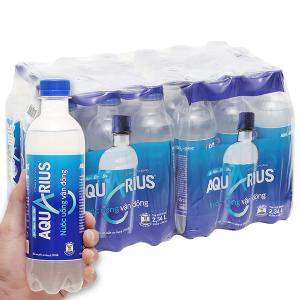 24 chai nước uống vận động Aquarius 390ml