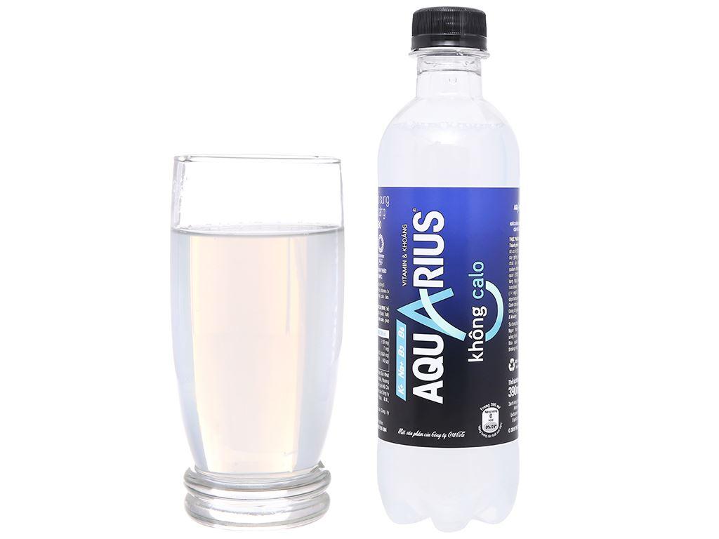 Nước uống vận động Aquarius Zero 390ml 9