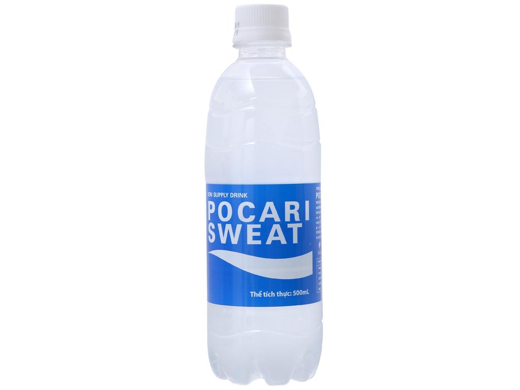 Nước khoáng i-on Pocari Sweat 500ml 1