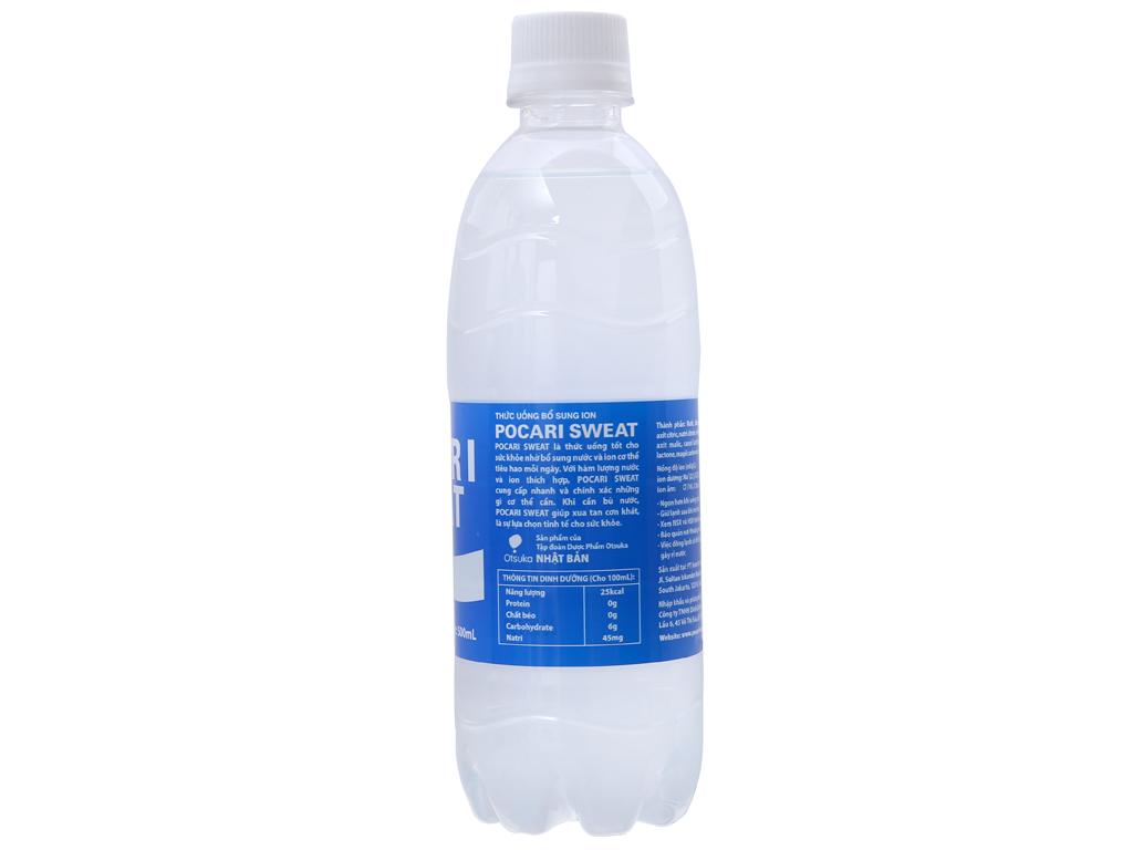 Nước khoáng i-on Pocari Sweat 500ml 2