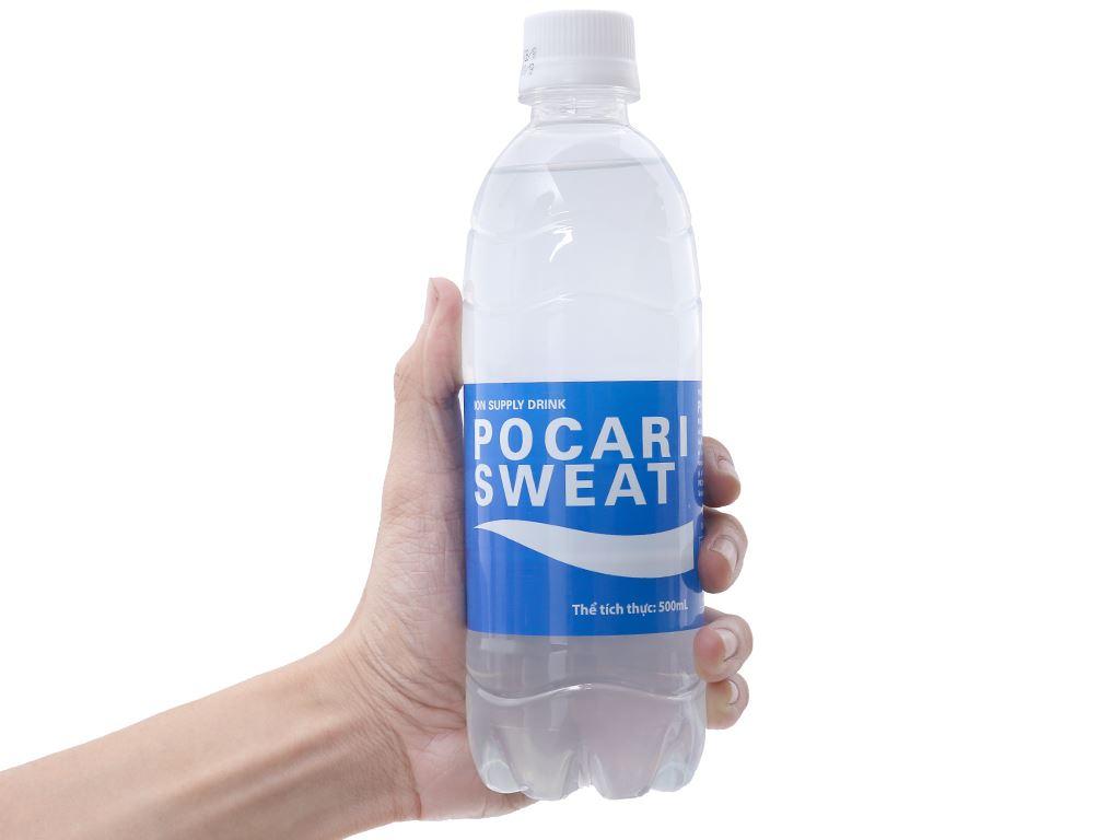 Nước khoáng i-on Pocari Sweat 500ml 4