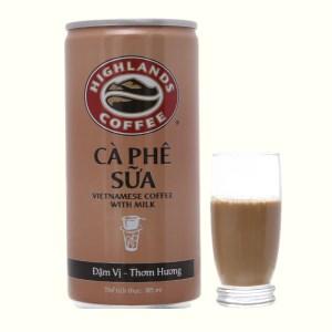 Cà phê sữa Highlands 185ml