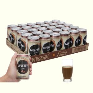 30 lon cà phê đen NesCafé Latte 180ml
