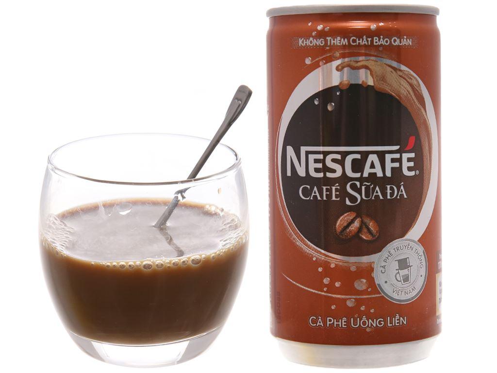 Cà phê sữa đá NesCafé 170ml 4
