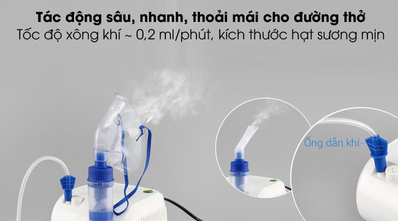 An toàn, hiệu quả, dễ chịu - Máy xông khí dung BioHealth NEB Easy