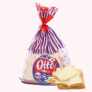 Bánh mì sandwich vị lạt Otto gói 220g (8 lát)