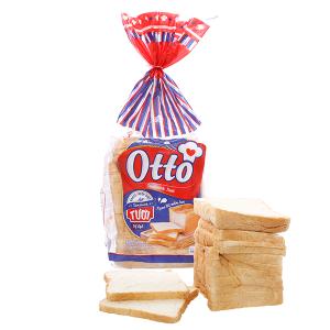 Bánh mì sandwich vị lạt Otto gói 450g (16 lát)