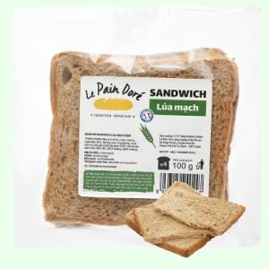 Bánh mì sandwich lúa mạch đen Le Pain Dore gói 100g (4 lát)