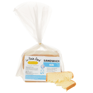 Bánh mì sandwich sữa Le Pain Dore túi 200g (8 lát)