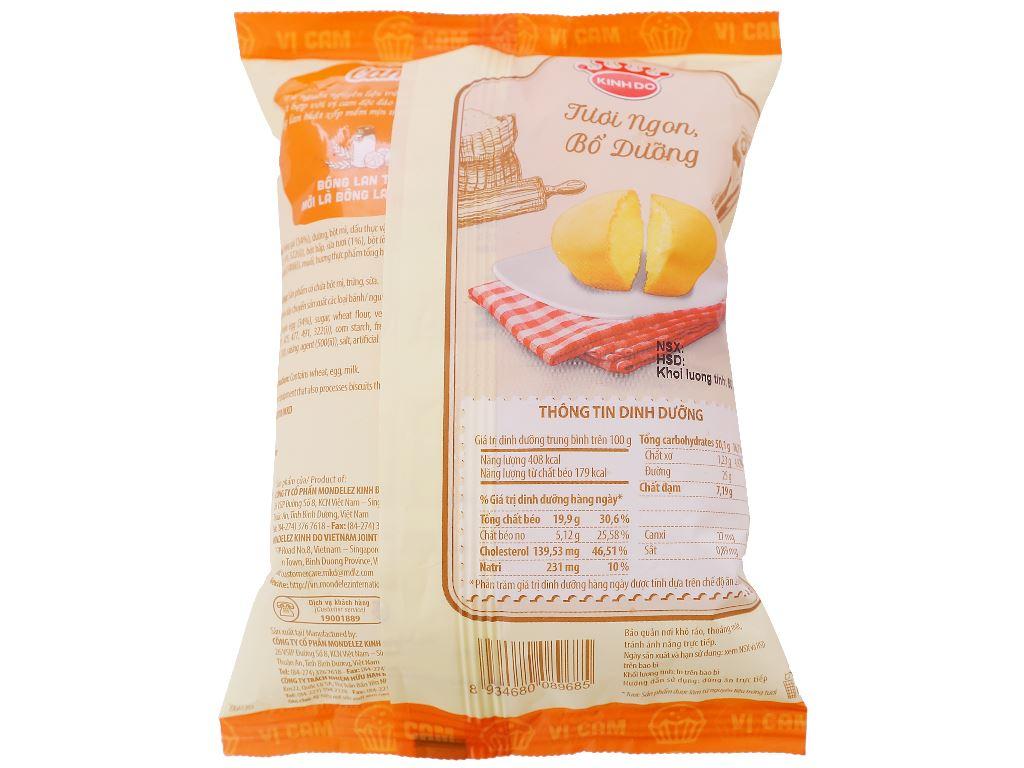 Bánh bông lan tươi vị cam Kinh Đô gói 50g 2