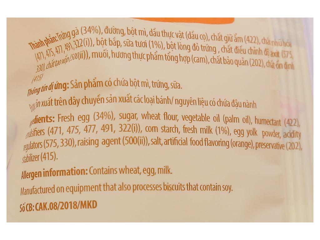 Bánh bông lan tươi vị cam Kinh Đô gói 50g 3