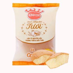 Bánh bông lan tươi vị cam Kinh Đô gói 50g