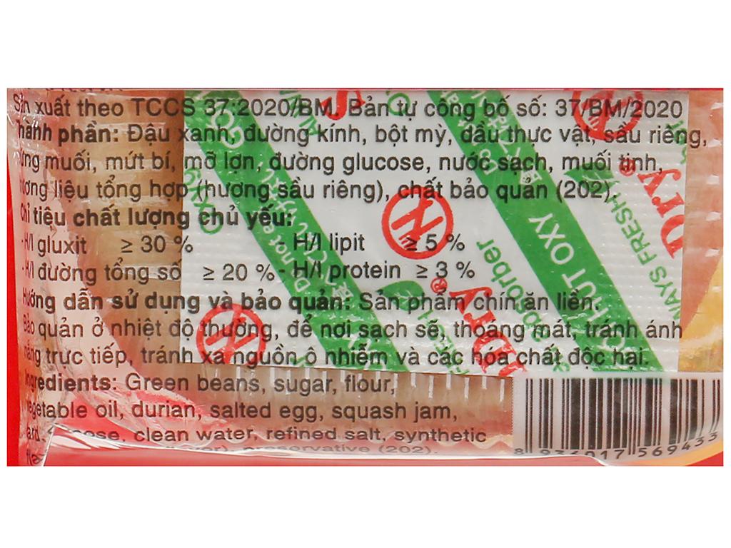 Bánh pía trứng Bảo Minh gói 50g 4