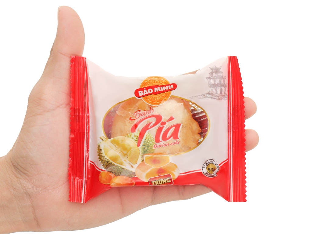 Bánh pía trứng Bảo Minh gói 50g 5