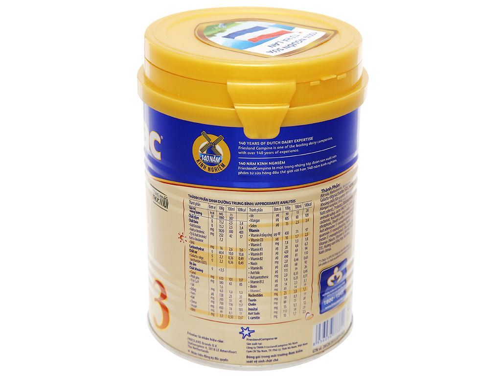 Sữa bột Frisolac Gold 3 lon 400g (1 - 2 tuổi) 7