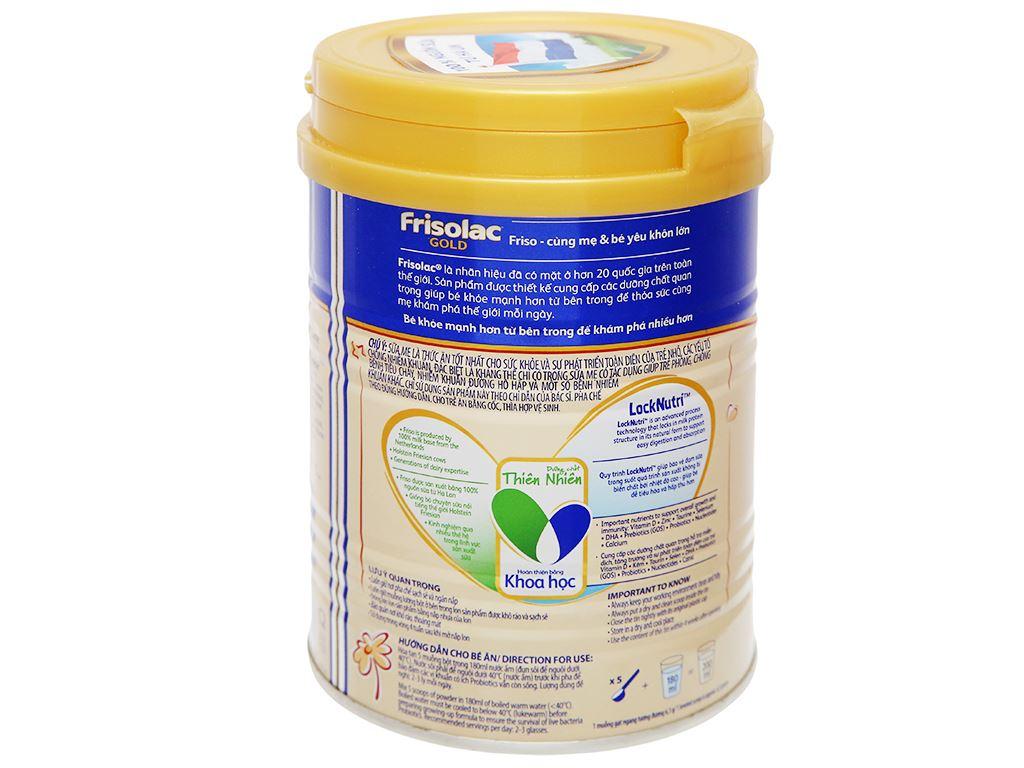 Sữa bột Frisolac Gold 3 lon 400g (1 - 2 tuổi) 9