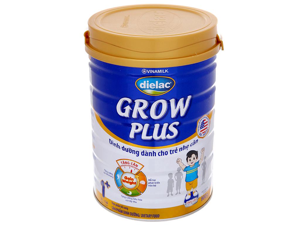 Sữa bột Dielac Grow Plus 1+ xanh lon 900g (1 - 2 tuổi) 2