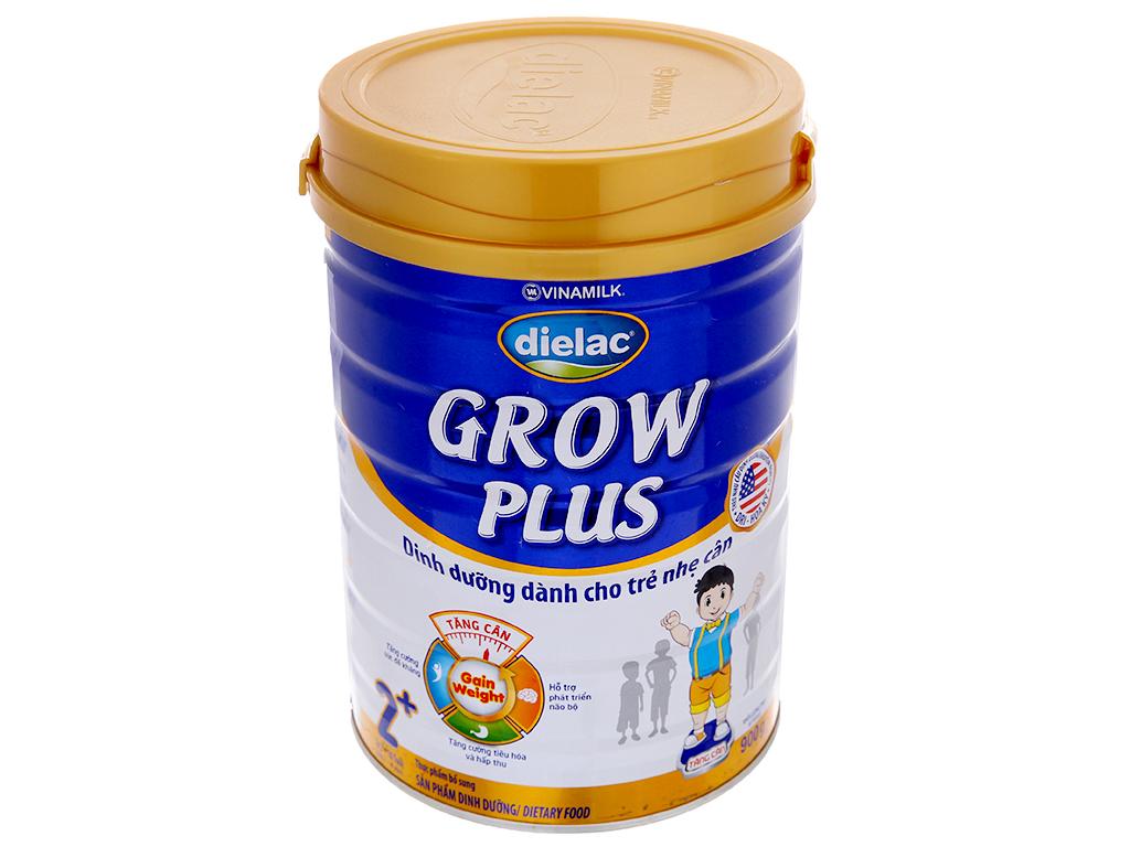 Sữa bột Dielac Grow Plus 2+ xanh lon 900g (2 - 10 tuổi) 2