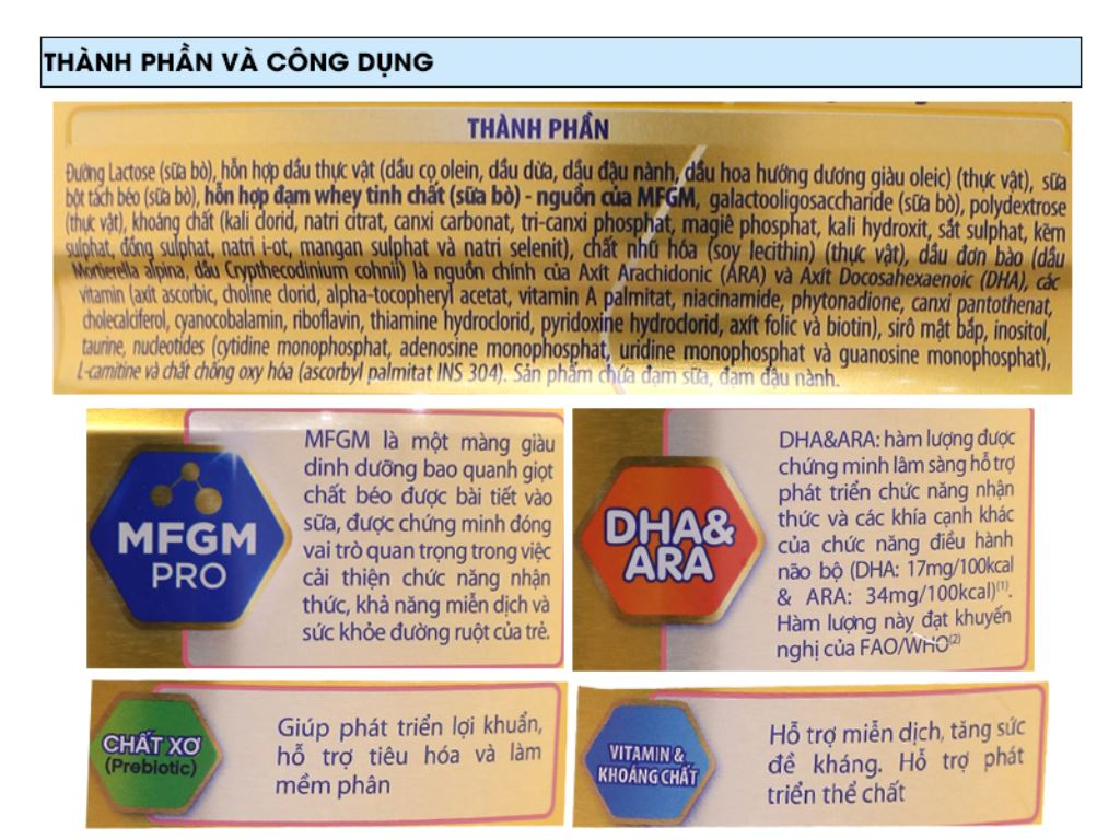 Sữa bột Enfamil A+ 1 lon 400g (0 - 6 tháng) 6
