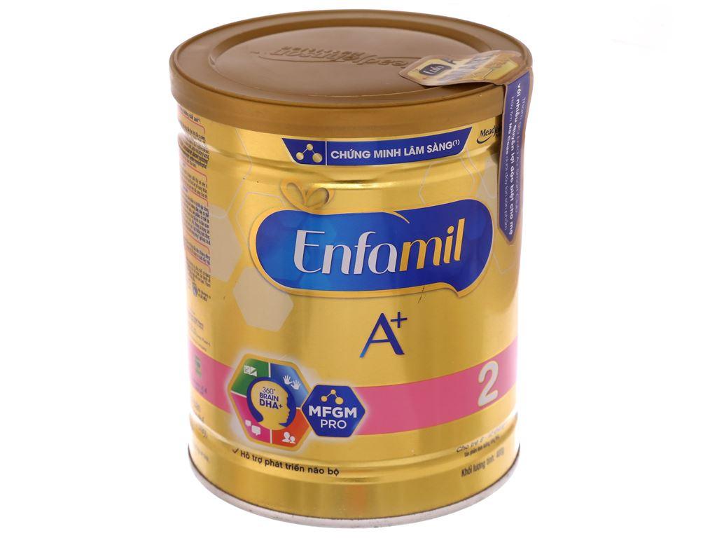 Sữa bột Enfamil A+ 2 lon 400g (6 - 12 tháng) 2