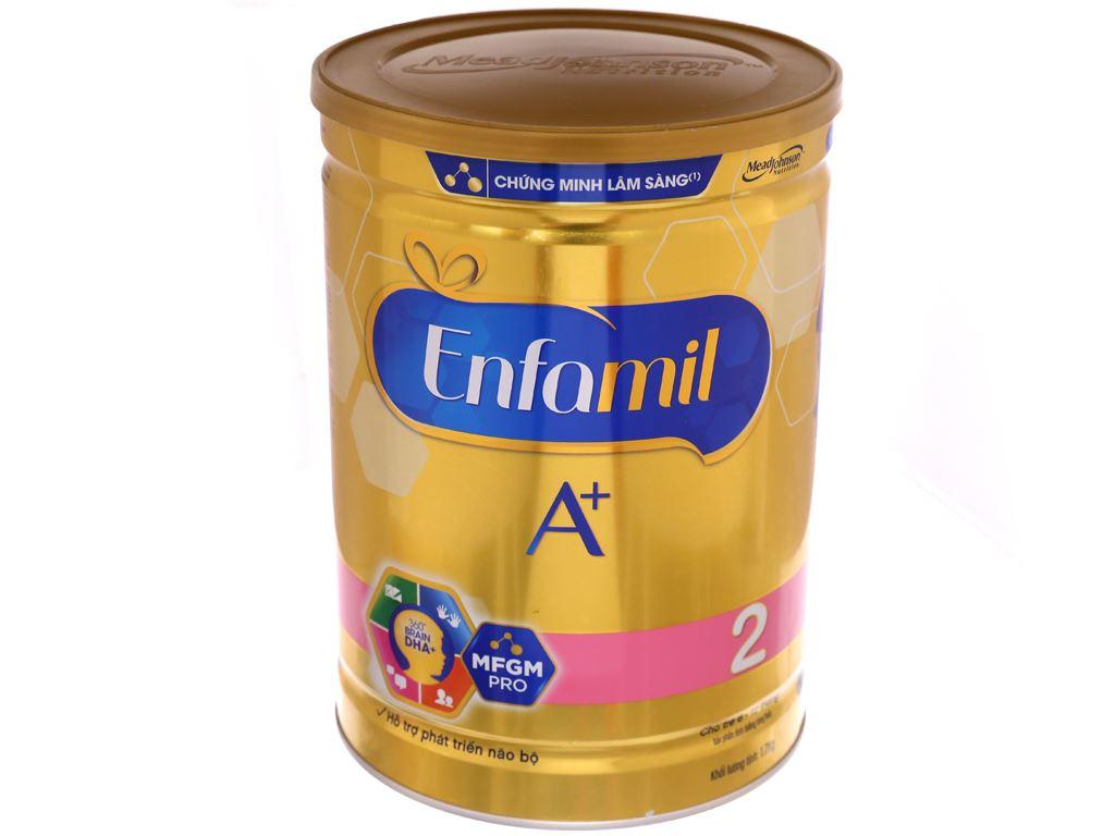 Sữa bột Enfamil A+ 2 lon 1.7kg (6 - 12 tháng) 2