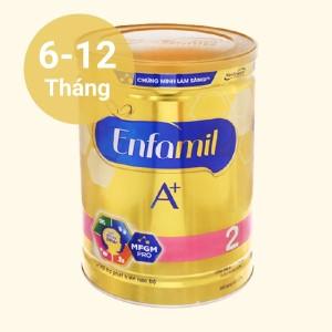 Sữa bột Enfamil A+ 2 lon 1.7kg (6 - 12 tháng)