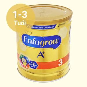 Sữa bột Enfagrow A+ 3 hương vani lon 400g (1 - 3 tuổi)