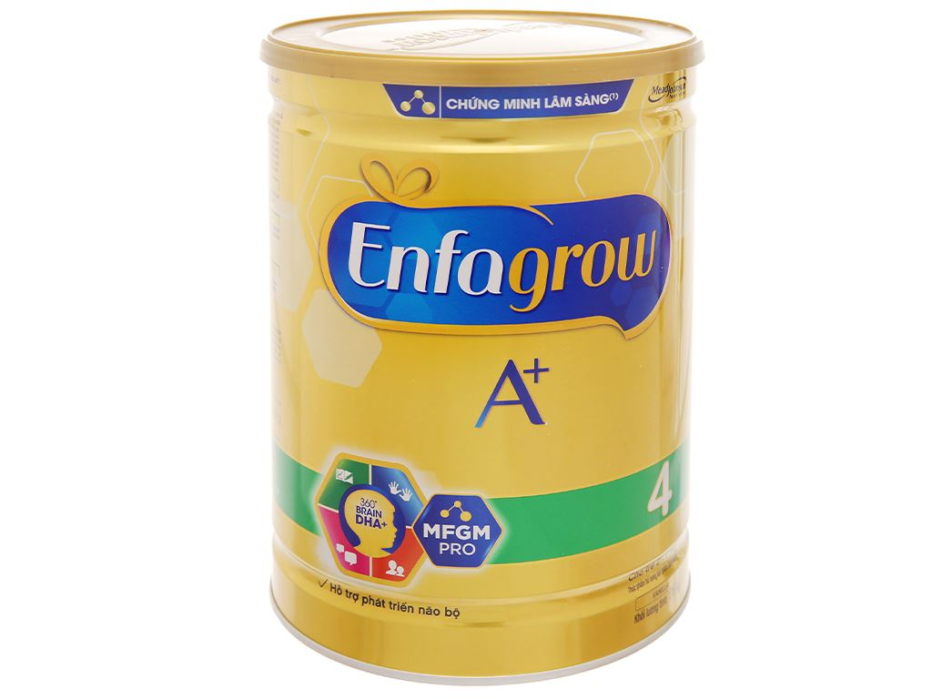 Sữa bột Enfagrow A+ 4 hương vani lon 1.8kg (2 - 6 tuổi) 9