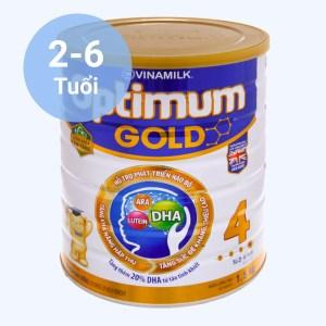 Sữa bột Optimum Gold 4 lon 1.5kg (2 - 6 tuổi)