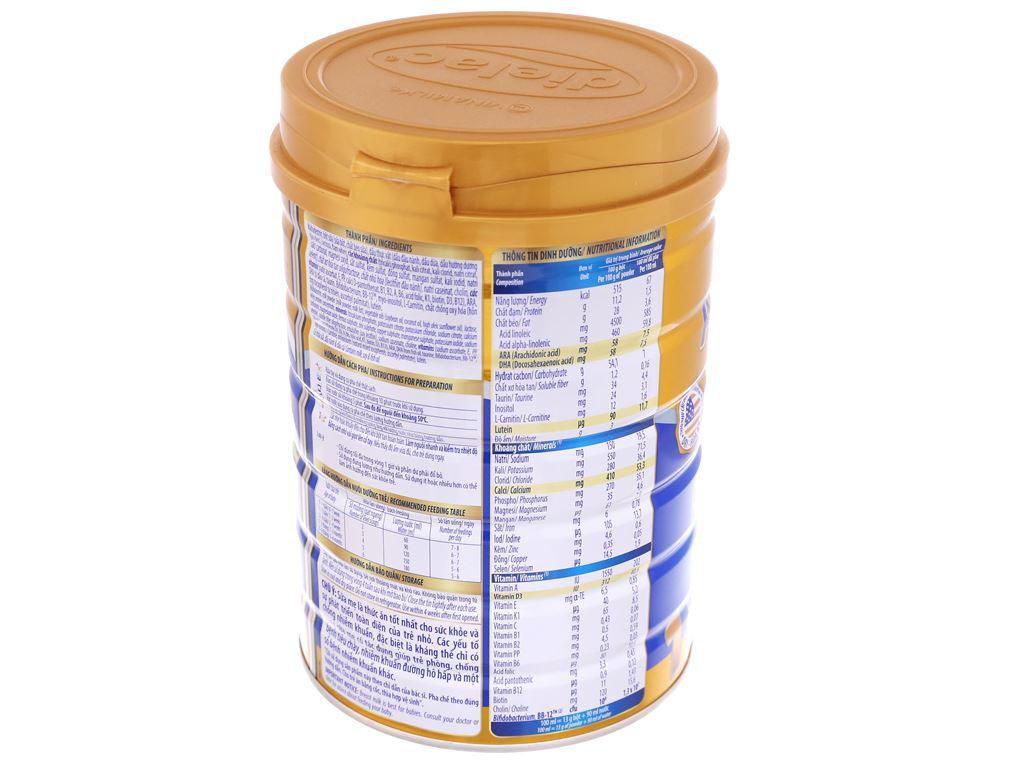Sữa bột Dielac Alpha Gold IQ 1 lon 900g (0 - 6 tháng) 4