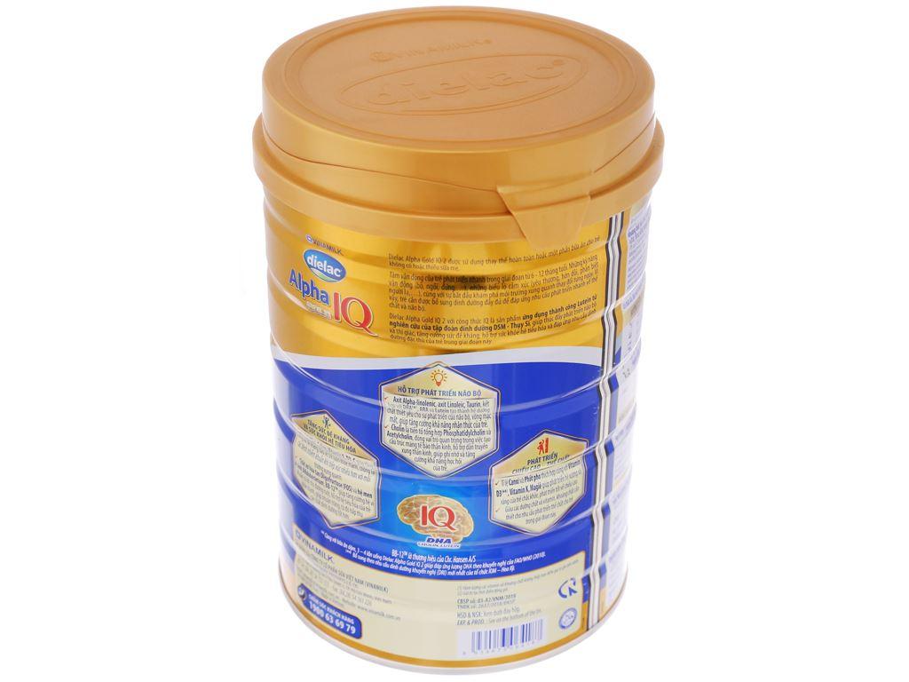 Sữa bột Dielac Alpha Gold IQ 2 lon 900g (6 - 12 tháng) 3