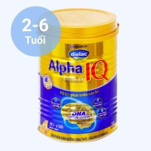 Sữa bột Dielac Alpha Gold IQ 4 lon 900g (2 - 6 tuổi)